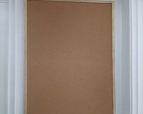 bảng ghim bần khung gỗ mã GTNB-812-1