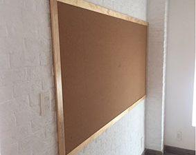 Bảng ghim bần gỗ tự nhiên GTNB-812-3