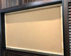 Bảng ghim bần khung gỗ mã GTNB-812-5